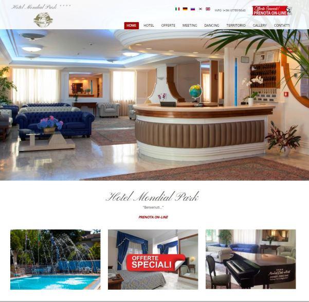sito responsive hotel con prenotazione on-line